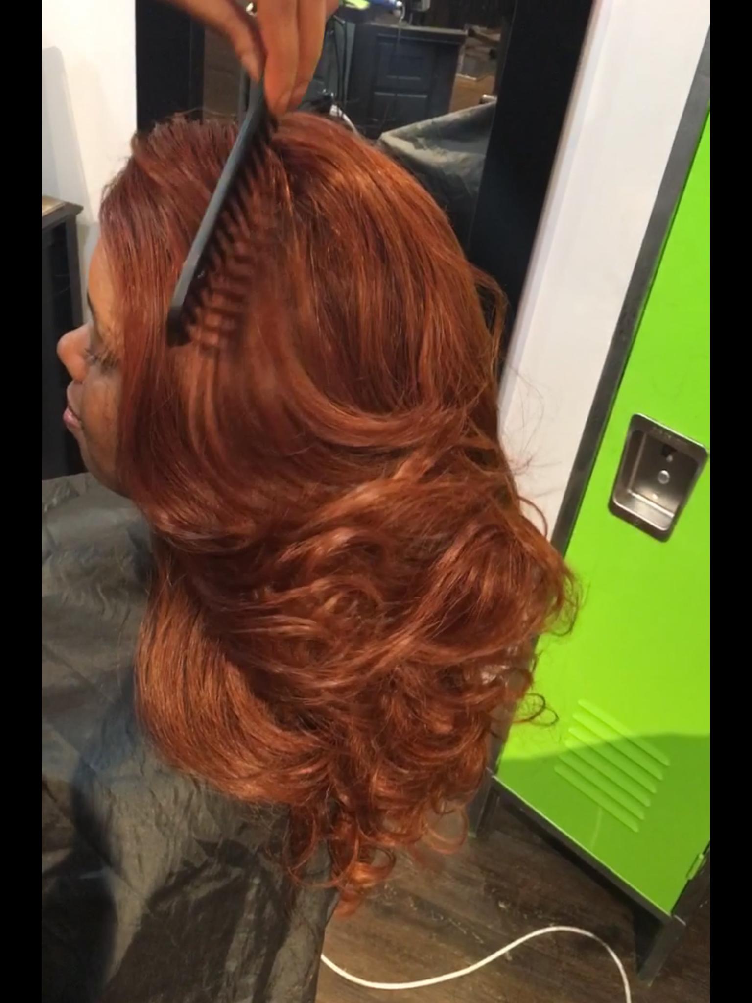 copper penny #haircolor soft