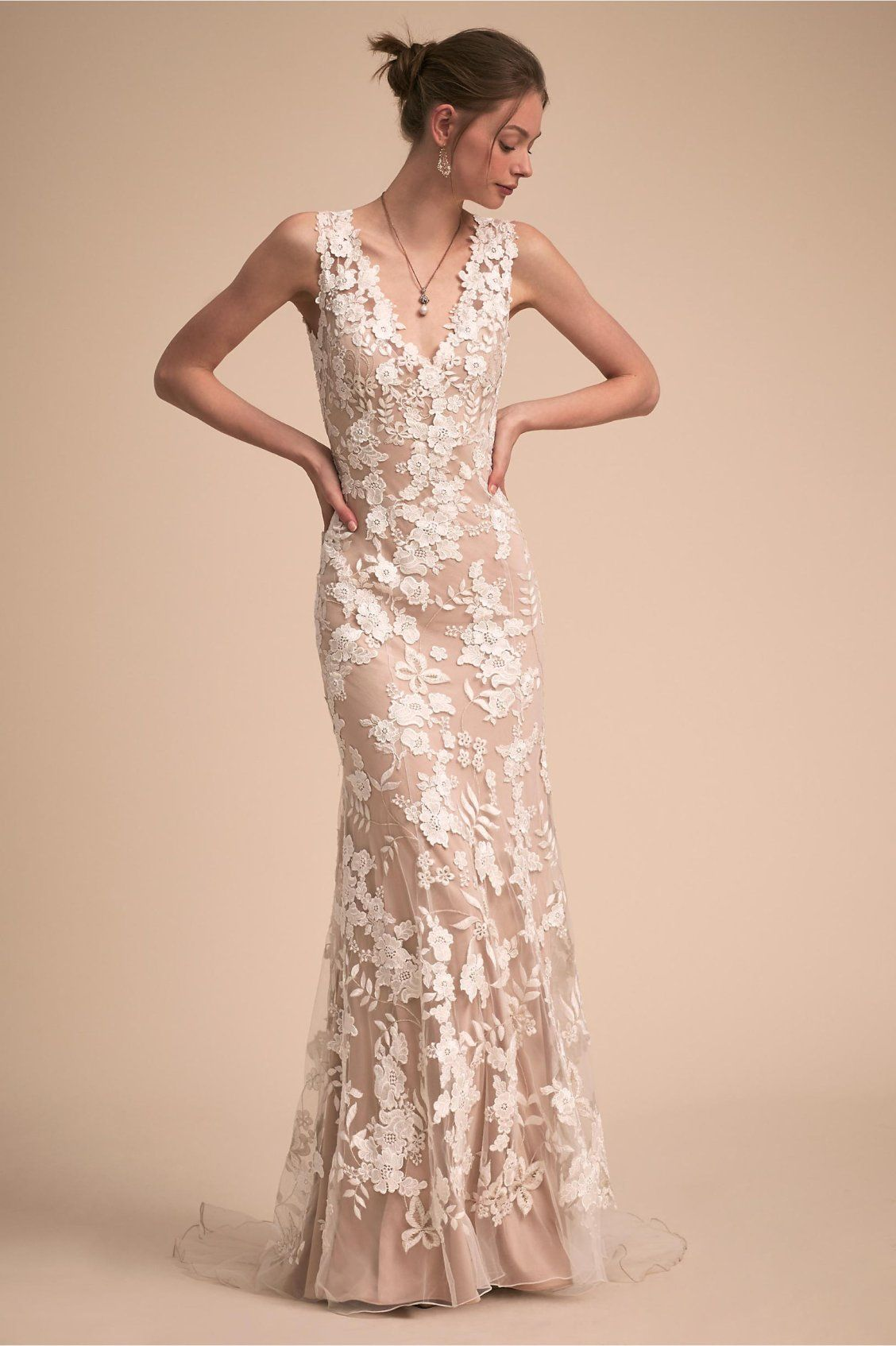 Liesel Gown from BHLDN   Bhldn wedding dress, Bridal outfits