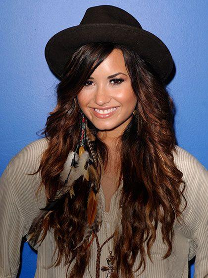Demi Lovato - At a radio station in Miami, 2011 | allure.com