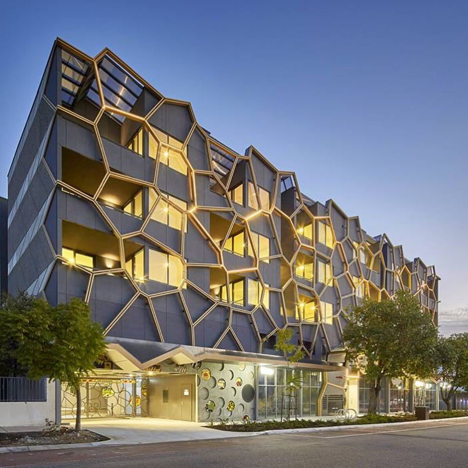 Arm Architects M24 Apartments In Perth Australia Equitone