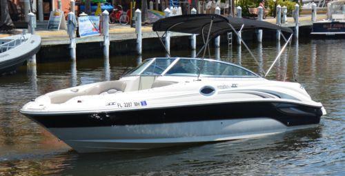 ebay ends sunday 4/26 Sea-Ray-240-SUNDECK-Chaparral-DECK-BOW