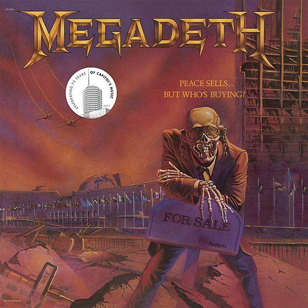 Crate Barrel Megadeth Peace Sells Products Metal Albums