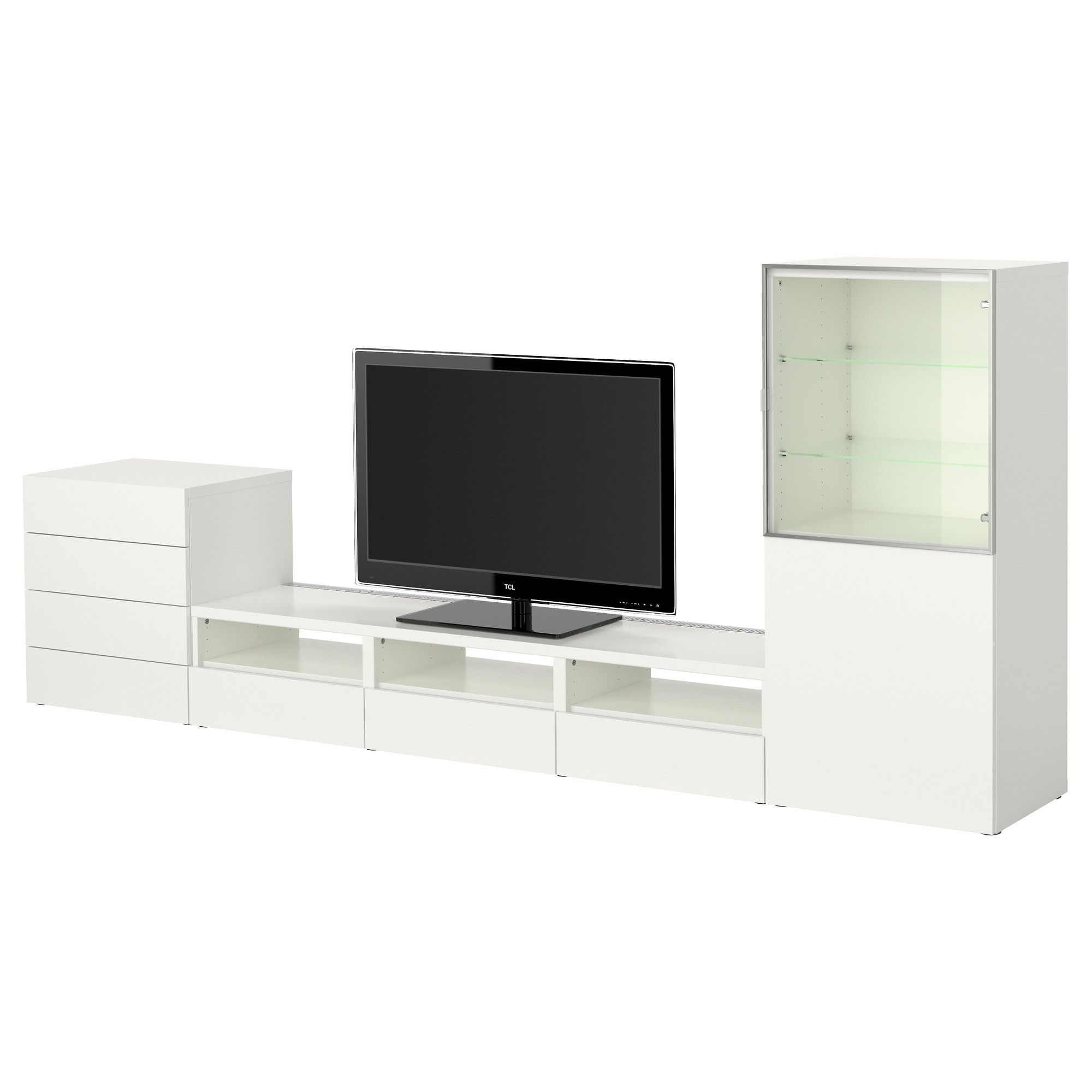 Best Tv Storage Combination White Ikea For The New House  # Meuble Tv Yucca