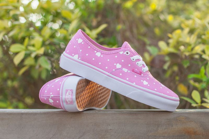 Vans Vans Valentine S Day Limited To The New Authentic Canvas Shoes