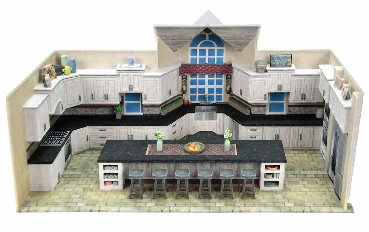 3DPrinted 3DPrinting Architecture Interior Design Kitchen 3DPrinted