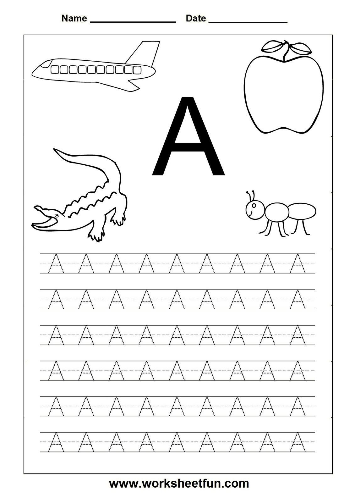3 Printable Alphabetical Order Worksheets For Kindergarten