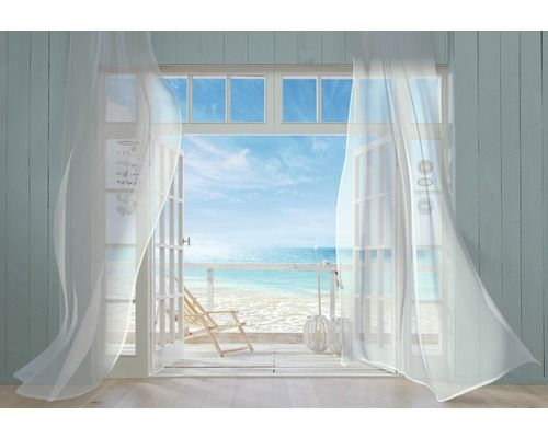 Fototapete dachfenster  Fototapete Malibu 368 x 254 cm jetzt kaufen bei HORNBACH ...