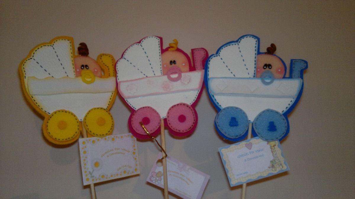 Patrones de adornos para baby shower en foami - Imagui | Baby ...