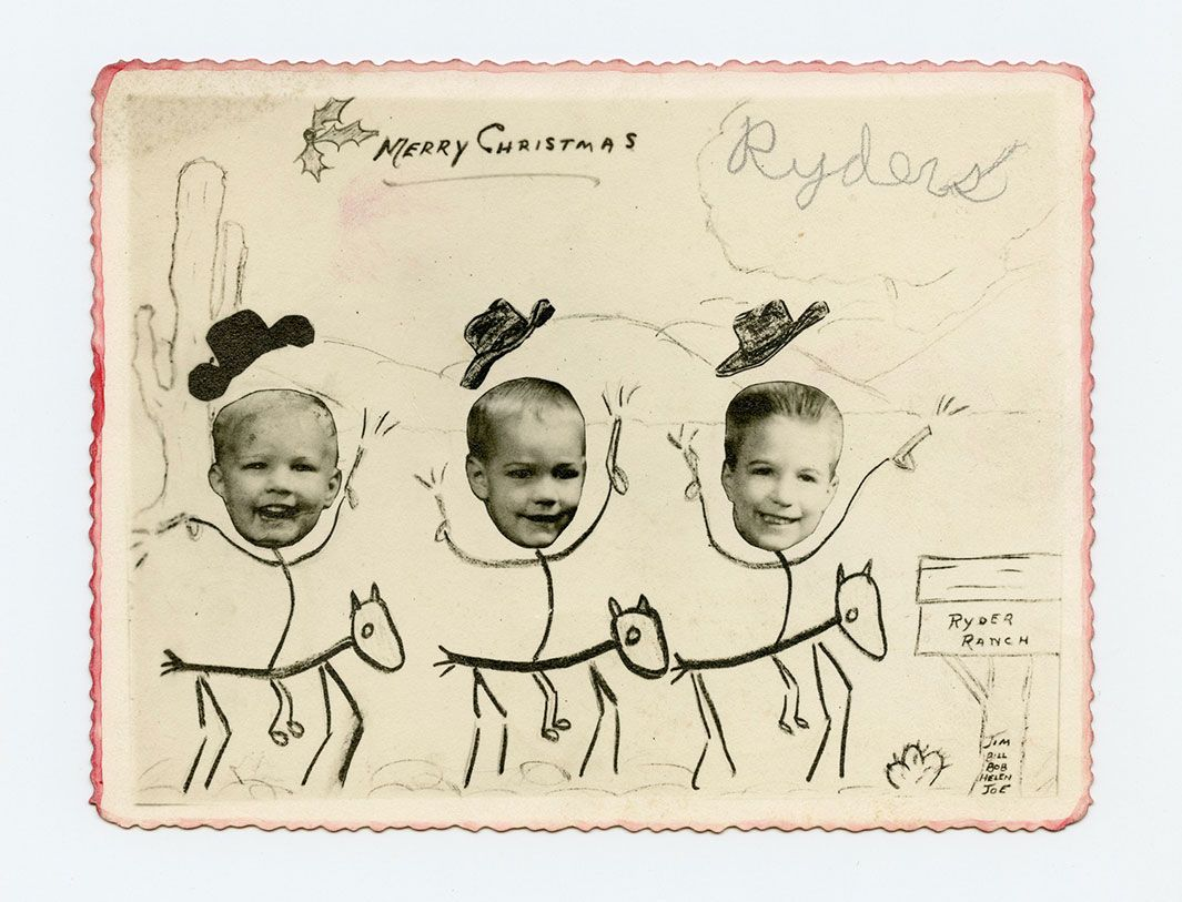 crazy awesome vintage holiday cards.