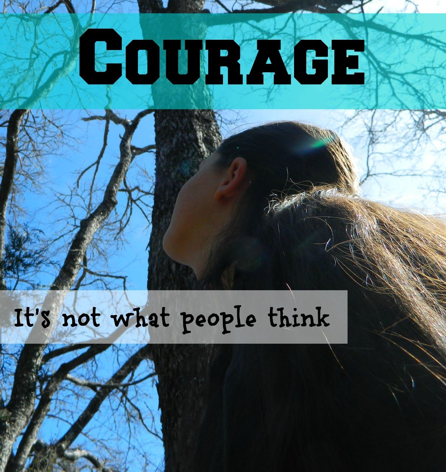 The Destiny of One: Courage: It's not what people think