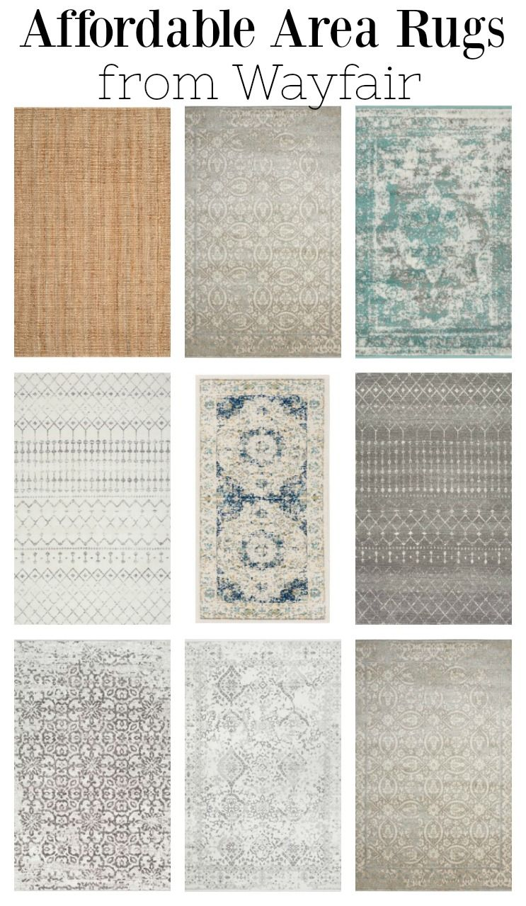 Affordable Area Rugs From Wayfair Farmhouse Style Area Rugs In 2020 Rugs In Living Room Living Room Area Rugs Affordable Area Rugs