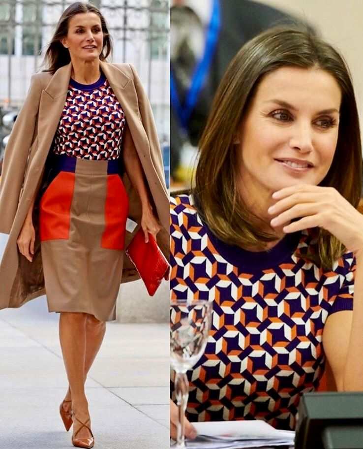 09/102018 Queen Letizia of Spain attended the opening of