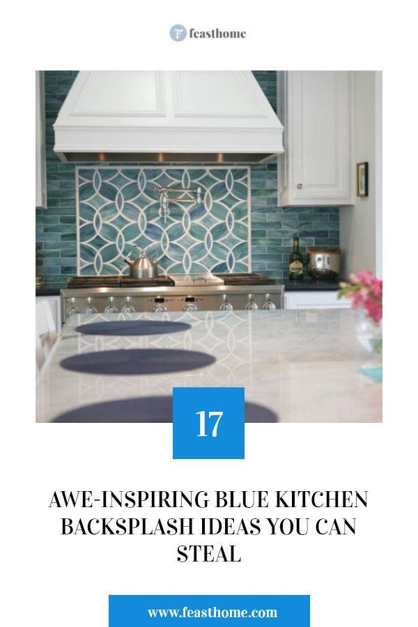 17 Awe-Inspiring Blue Kitchen Backsplash Ideas You Can Steal Balcony