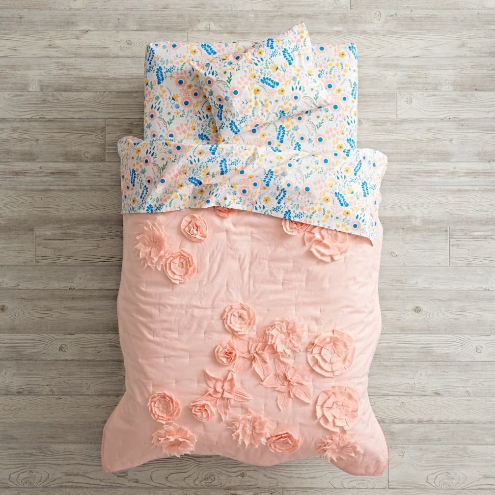 outlet store 2a2df 3075b Shop Floral Rush Toddler Bedding. Looking for floral toddler ...