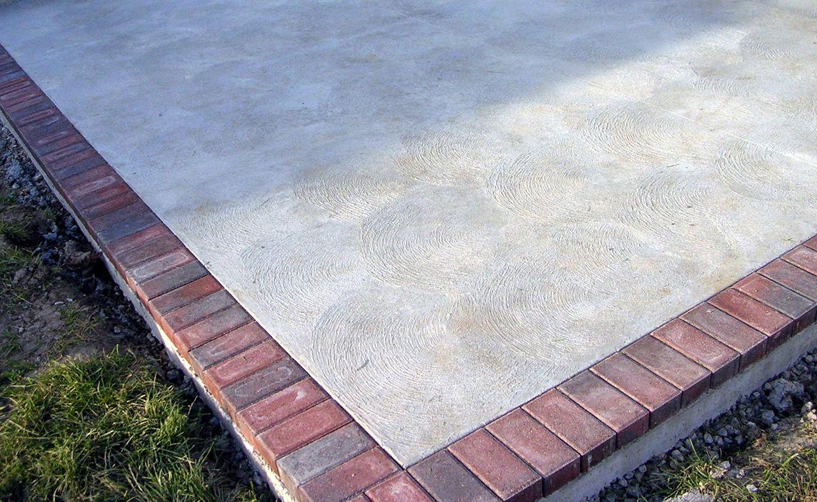 Brushed Standard Concrete Finish In 2020 Concrete Patio