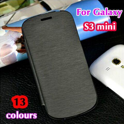 Slim Shell Original Bag Battery Housing Leather Case Flip Back Cover Sleeve Holster For Samsung Galaxy S3 Mini Samsung Galaxy S3 Fundas Para Samsung Galaxy S3