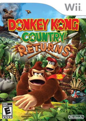 Donkey Kong Country Returns Nintendo Wii Game Donkey Kong