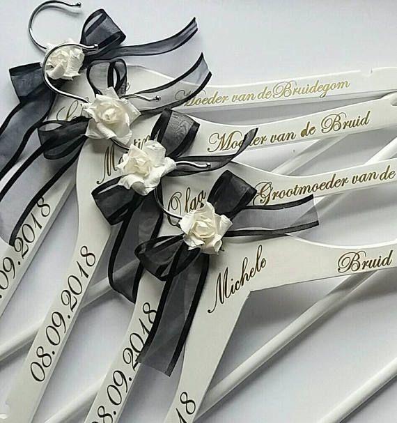 Personalised Coat Hangers Gold Vinyl Decals ONLY DIY Bridal - Diy vinyl wedding hangers