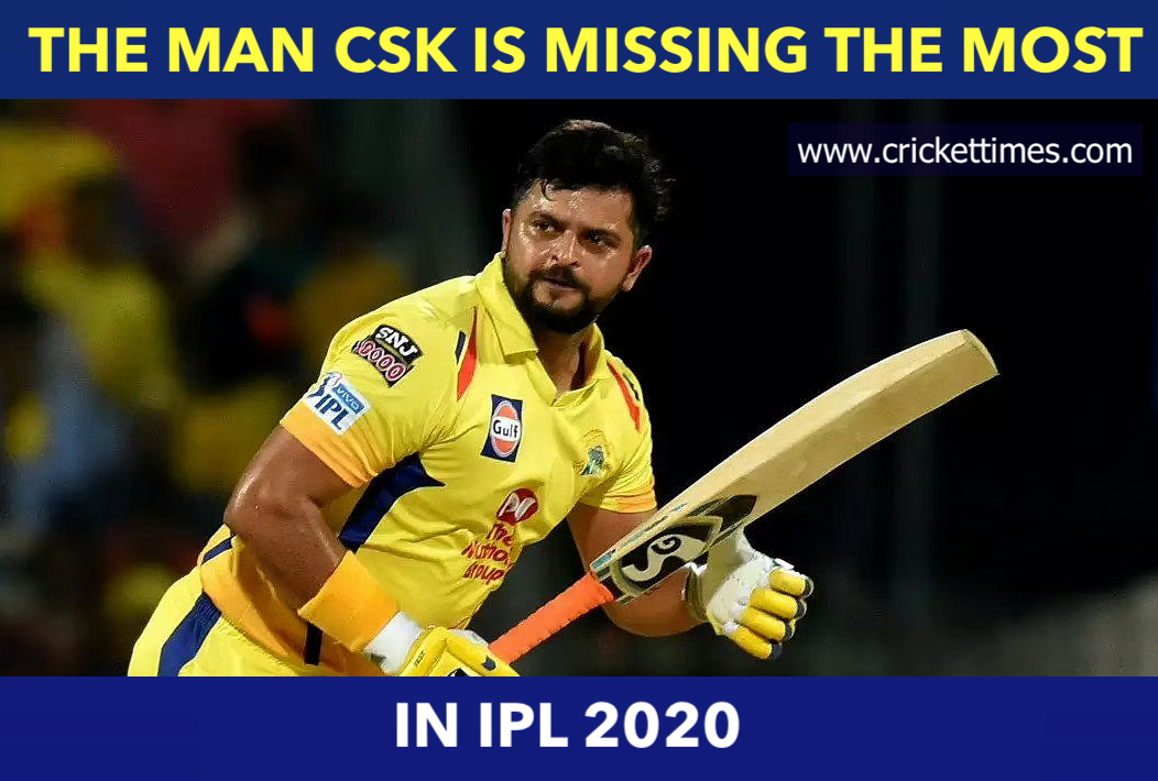 Csk Are Badly Missing Suresh Raina In Ipl 2020 Sureshraina Ipl2020 Csk In 2020 Latest Cricket News Ipl Cricket News