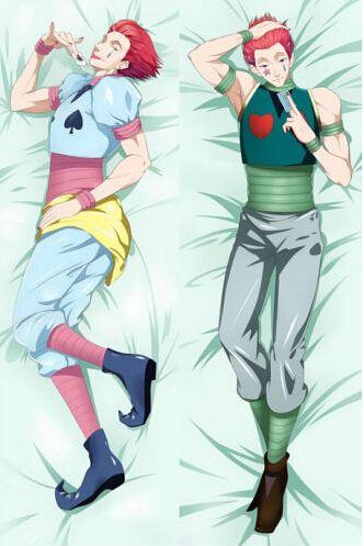 anime hisoka life size pillow to hug