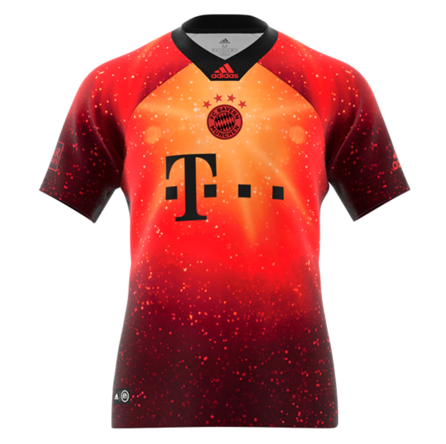 cheap for discount 0ea0b 36d08 Bayern Munchen 18/19 EA Sports Jersey Personalized Name and ...