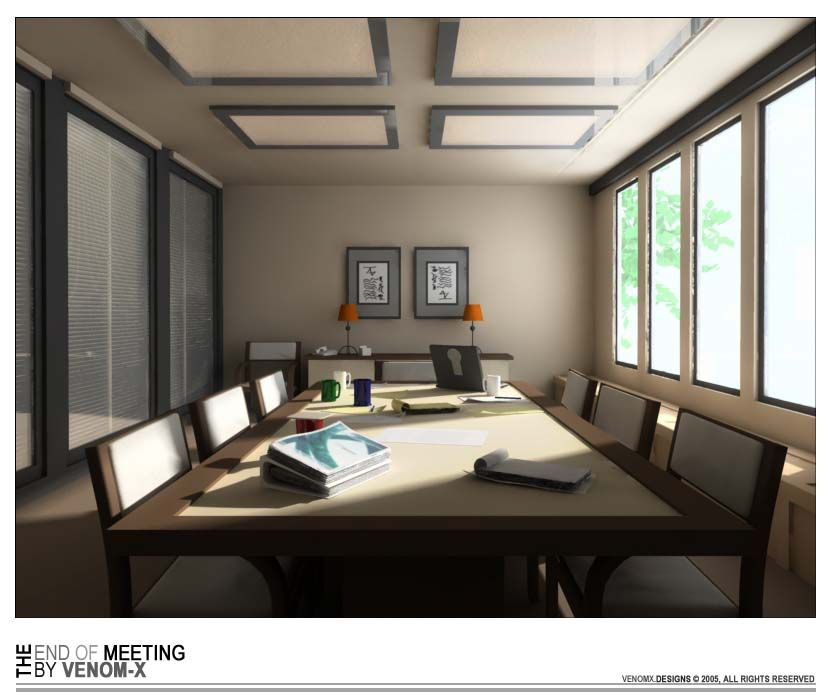 Bedroom Decor Diy Ideas Bedroom Design Double Deck Bedroom Chairs With Coffee Table Office In Bedroom Decorating Ideas: Oriental Style Meeting Room With Wood Table White Cushions Seating And Orange Table Lamp Above