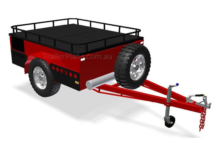 OFF ROAD Camper Trailer PLANS