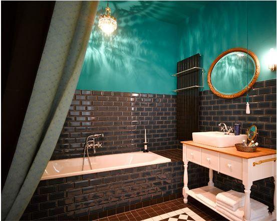 Turkis Einrichten Gorki Badezimmer Apartment Jpg 553 441 Badezimmer Braun Badezimmer Farbideen Badezimmer Design