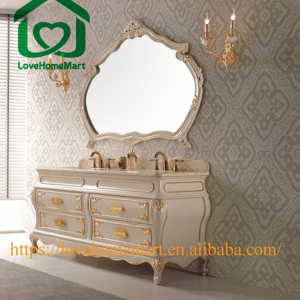 Picture Gallery Website Popular Double Sink Solid Wood Bathroom Vanity Drawers With A Mirror Buy Popular Bathroom Cabinet Double Sink Bathroom Vanity Drawers With A Mirror