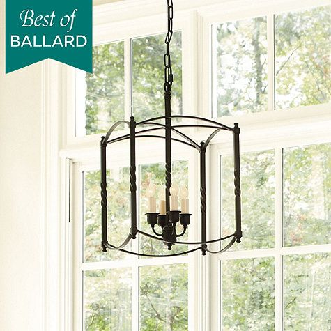 Carriage House Chandelier   Large  Ballard Designs