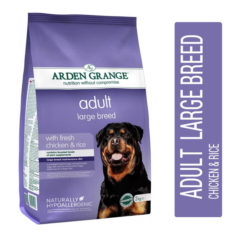 Arden Grange Large Breed Chicken Rice Dog Food Best Dog Food