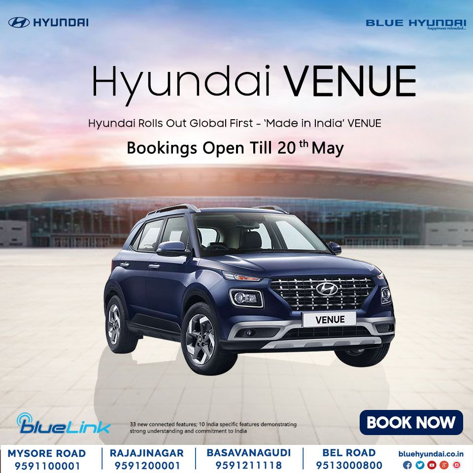 Hyundai VENUE has been tested and evaluated at the most