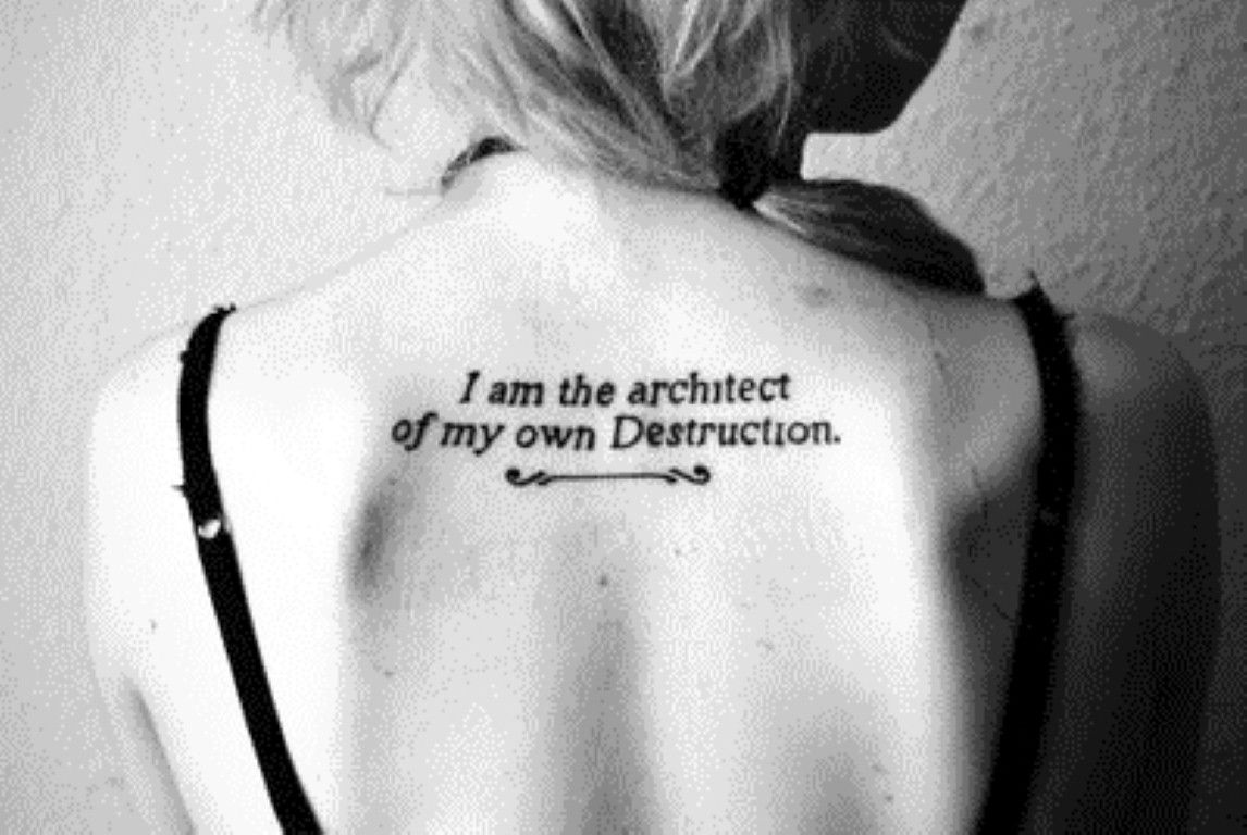 cool Simple Tattoo Quotes Tumblr | Tattoo | Pinterest | Tattoo