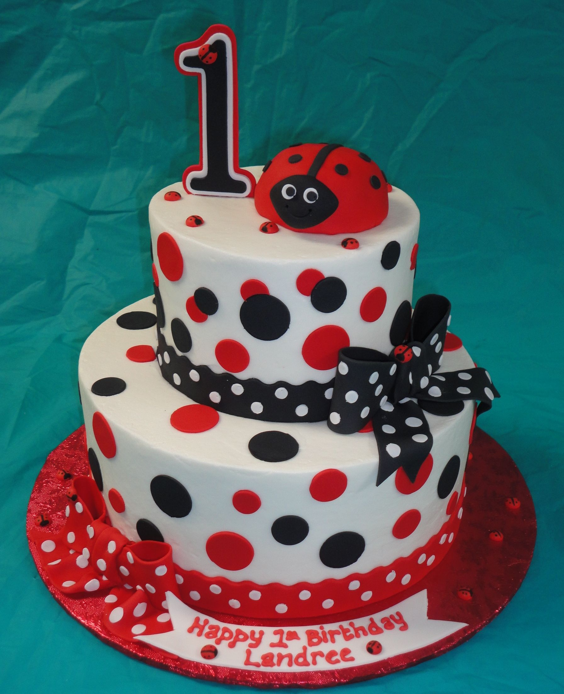 Ladybug Baby Shower Cakes Partyyplanning Pinterest Birthday