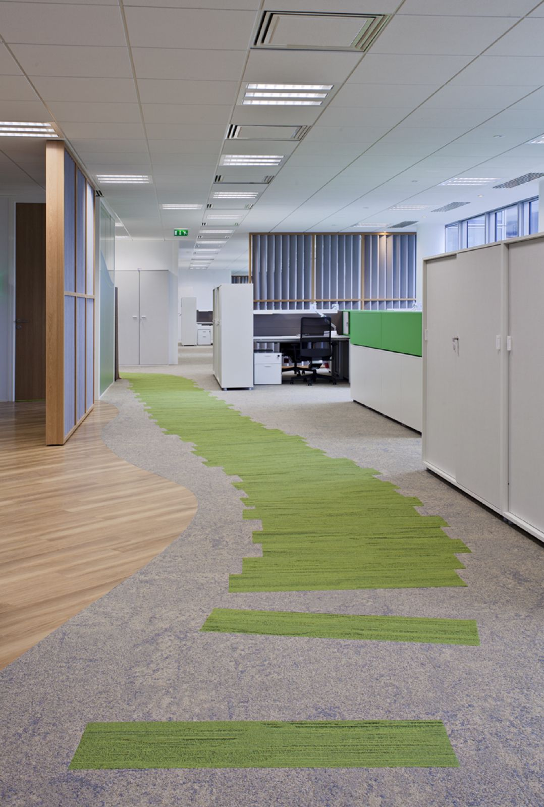 Interface Urban Retreat Planks In Grass Commercial Flooring Floor Design Commercial Carpet Tiles