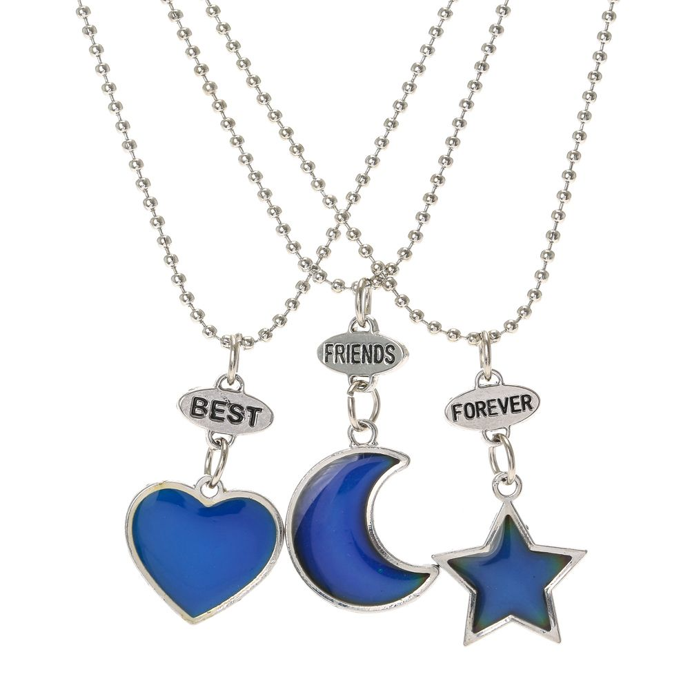 Pyour bffs are perfectly in sync these mood necklaces will these mood necklaces will always let mozeypictures Image collections