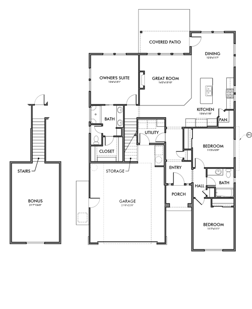 Washington Floor Plan By Brighton Homes Of Idaho Floor Plans Brighton Houses How To Plan