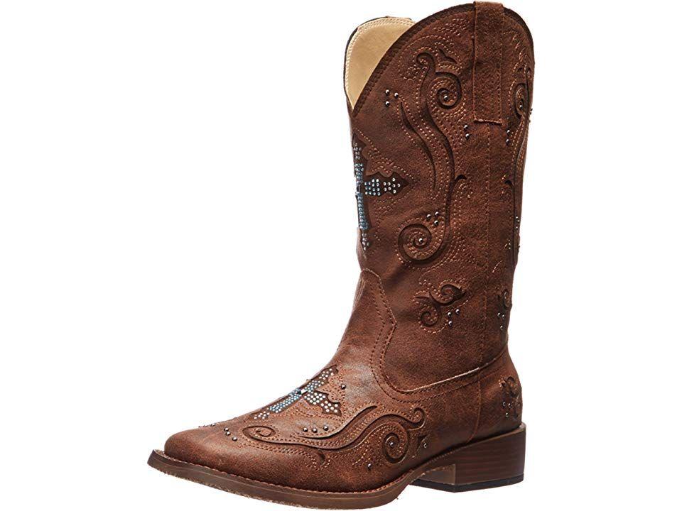 d543e4e02da Roper Faith Cowboy Boots Brown   Products   Boots, Shoes, Western Boots
