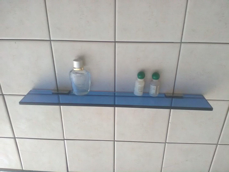 Mensole Di Vetro Per Bagno.Vintage Mensola Blu Ripiano Di Vetro Mensola Per Il Bagno Di