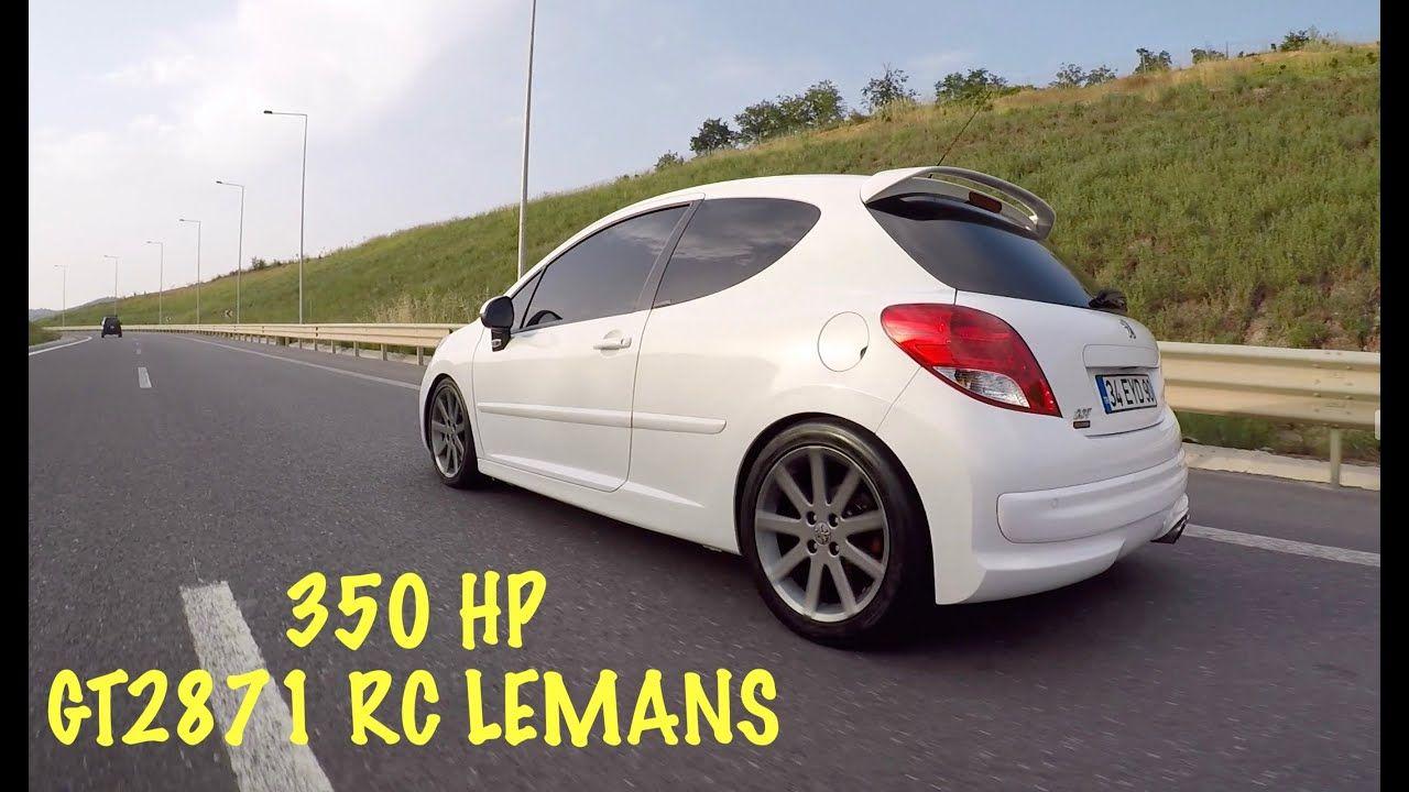 350hp Peugeot 207 Rc Lemans Gt2871 Turbo Setup Ecutuned Peugeot Kanal Instagram