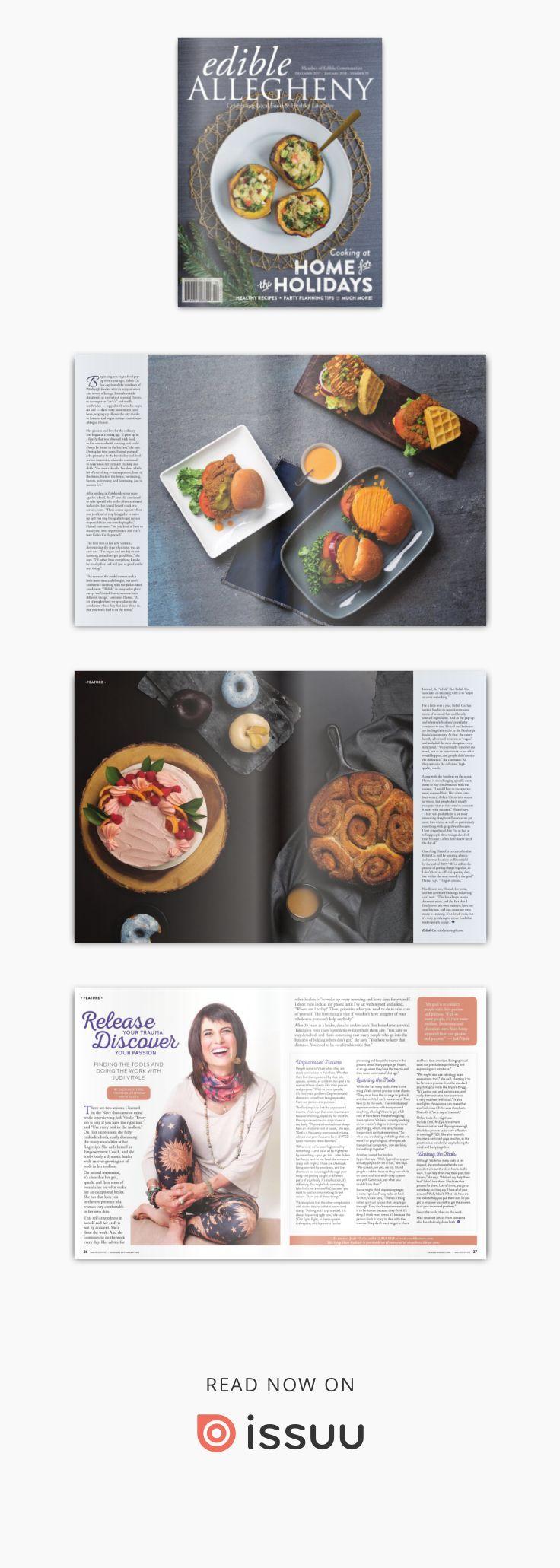 Edible Allegheny DecemberJanuary   December Healthy recipes