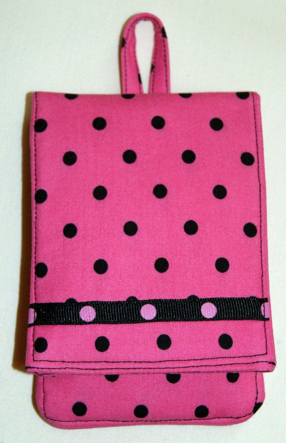 Padded Fabric Cell Phone/iPod Cover