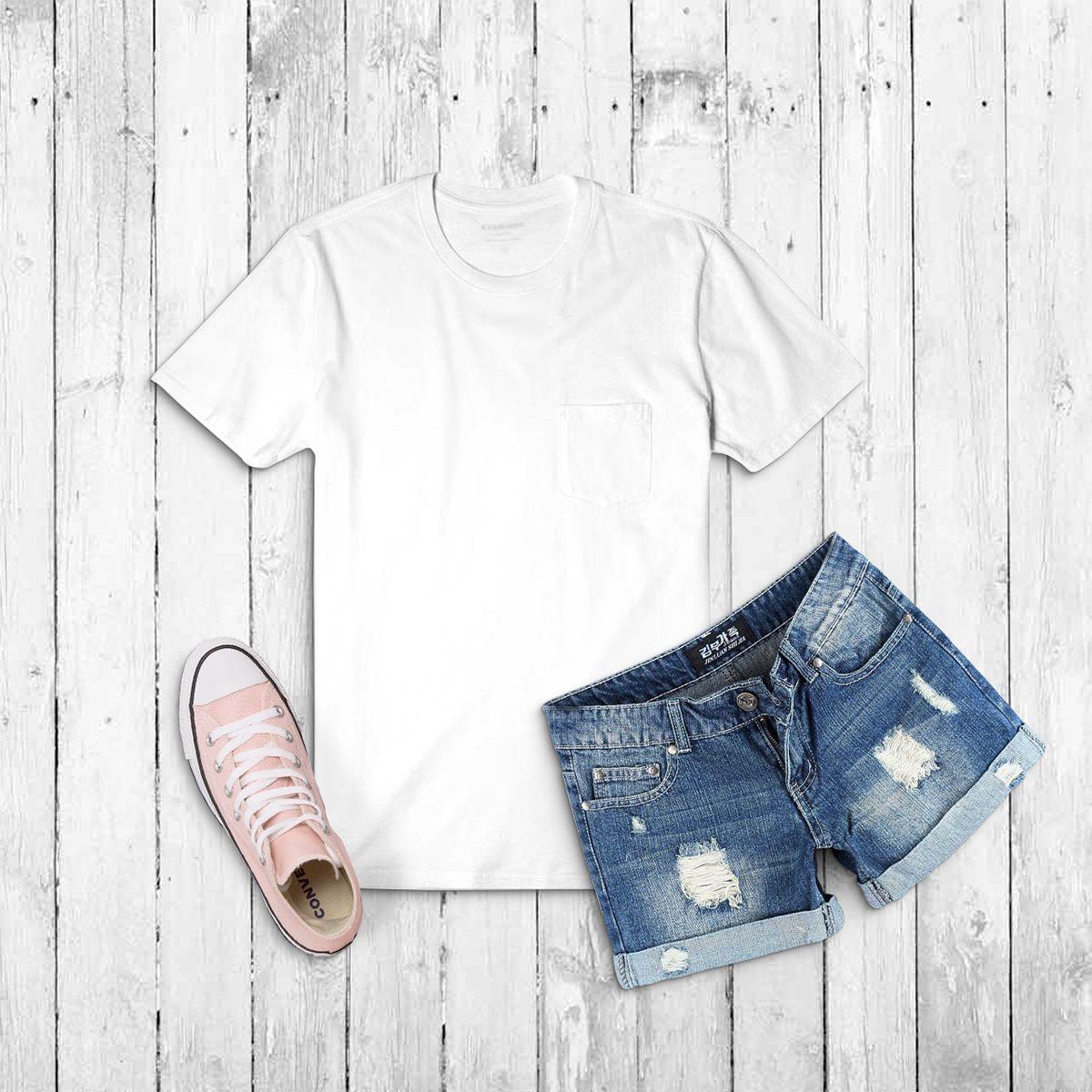 Download Free Shirt Mock Up On Behance Tshirt Mockup Free Clothing Mockup Free Shirts