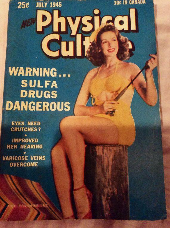 Vintage magazine Physical Culture from July by Jonesysvintage4u, $3.00