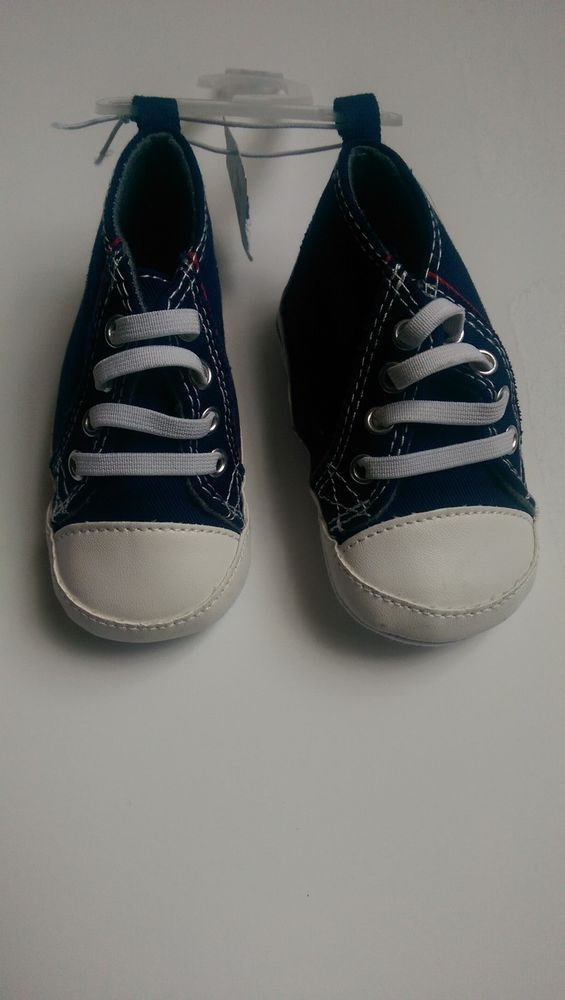 Old Navy Baby Boy 6-12 Months Navy Blue Shoes  NWT  #OldNavy #CasualShoes