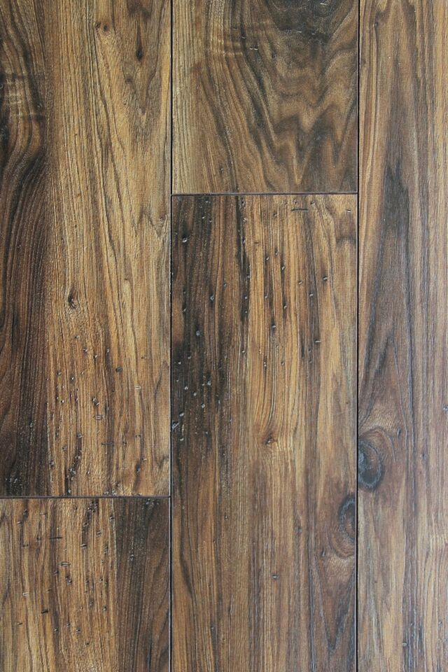 Calypso Whiskey Wood Laminate Flooring With Pad Attached 6 5