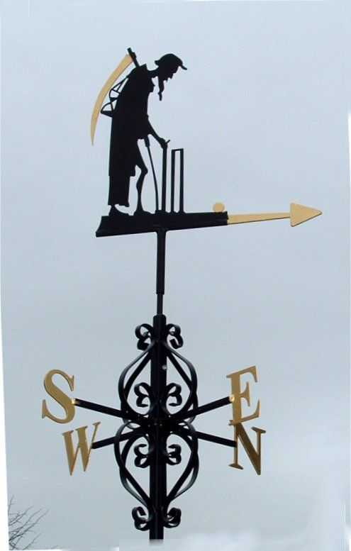 Old Father Time Is A Weather Vane At Lords The Symbolism Of The