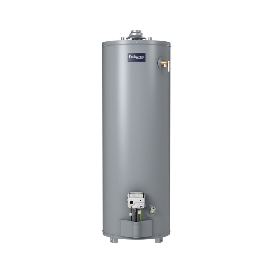 Envirotemp 40 Gallon Tall 3 Year Natural Gas Water Heater 40t3 34ng In 2020 Natural Gas Water Heater Water