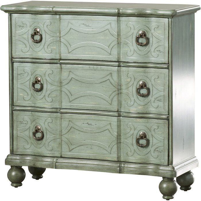 Miquelon Scroll 3 Drawer Accent Chest In 2020 Stylish Cabinet Master Bedroom Colors High Fashion Home