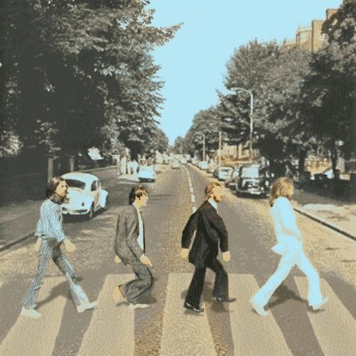 Abbey Road Gone Mad.